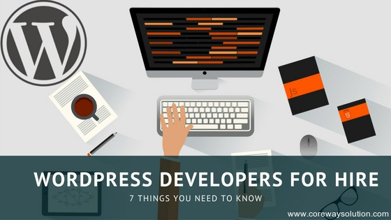 WordPress Developers for hire from Coreway